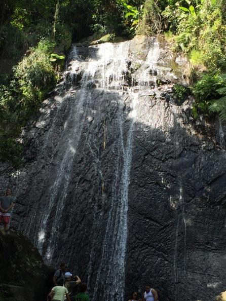La Coca falls El Yunque National Forest Puerto Rico Jan. 2017.