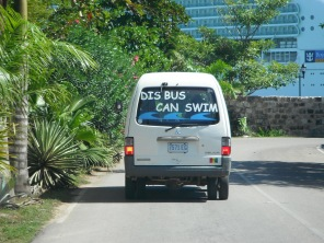 Dis Bus Can Swim Cayman Is 2012