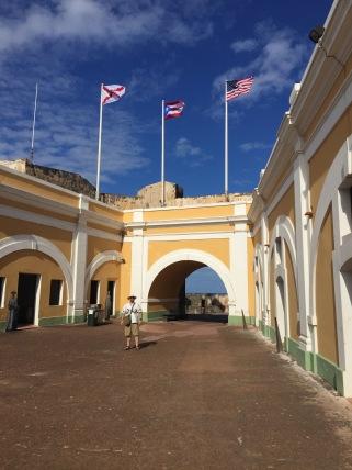 Castillo San Felipe del Morro San Juan Puerto Rico Jan. 2017.