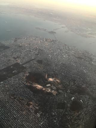 San Francisco form the air 2016.
