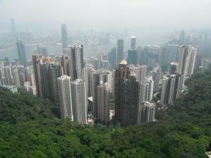 Hong Kong form the Peak 2015