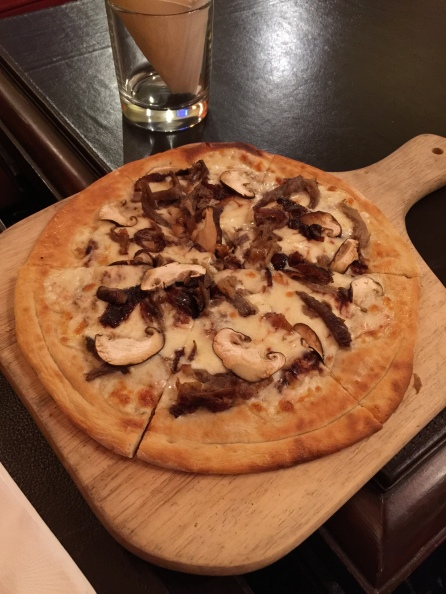 Peking Duck Pizza Hong Kong 2015