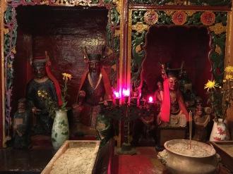 Idols inside Man Mo Temple, Hong Kong 2015.