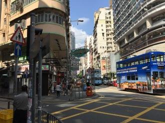 Ki Chan Tea Co. sign Hong Kong 2015.