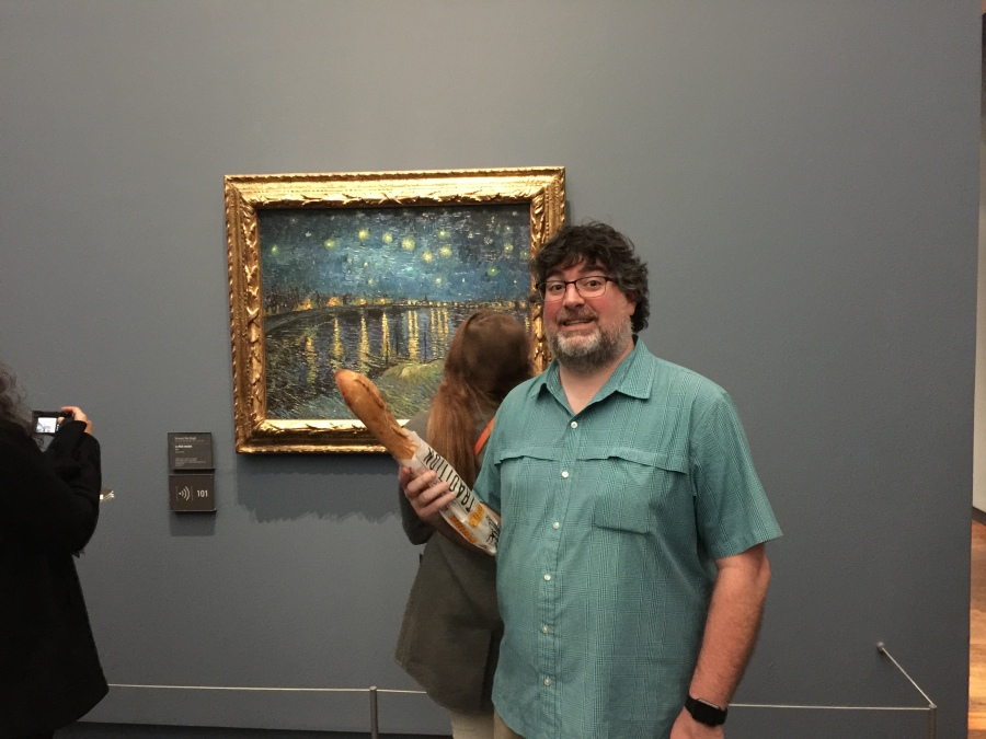 Me, Philippe, and Van Gogh