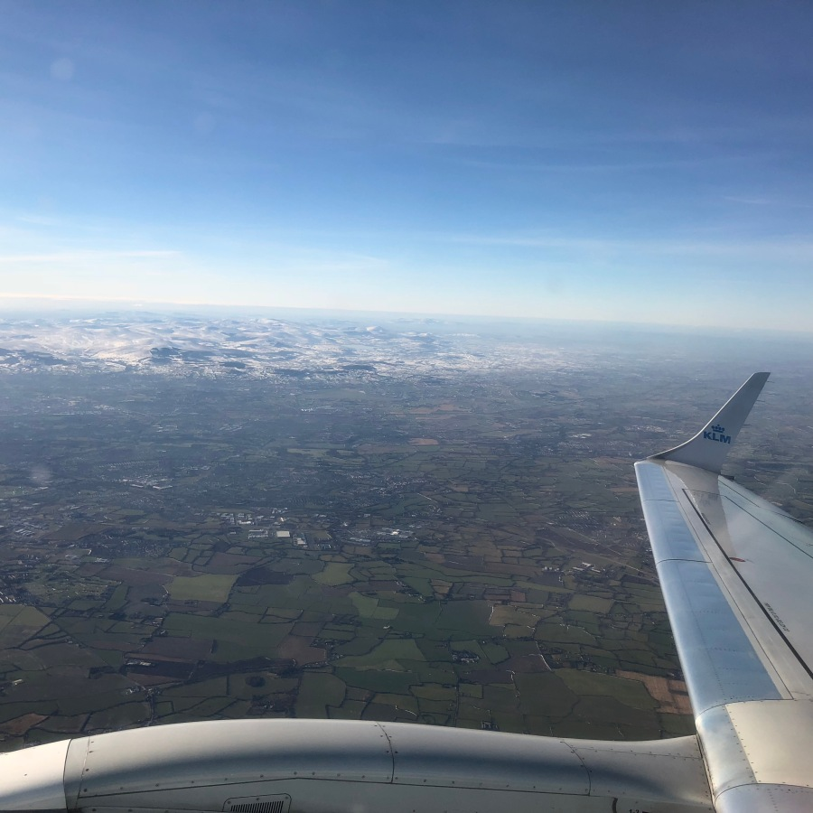 Snow Above Ireland